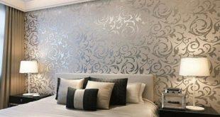 صوره ورق جدران لغرف النوم , اجمل اشكال ورق جدران لغرفه النوم