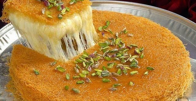 صوره كنافة تركية , افضل طريقة لعمل الكنافة التركية