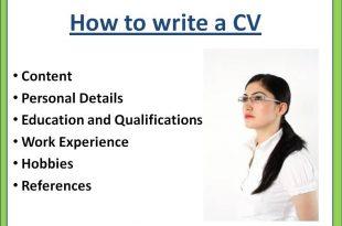 صوره كيفية كتابة cv , افضل طريقة لكتابة السي في
