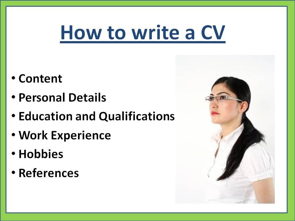 صورة كيفية كتابة cv , افضل طريقة لكتابة السي في