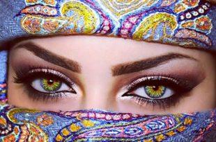 صوره اجمل عيون النساء , شاهد اجمل الوان العيون