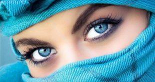 صوره عيون زرقاء , شاهد بالصور جمال العيون الزرقاء