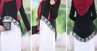 صورة صور حجابات , انواع ارتداء الحجاب حسب الوجه