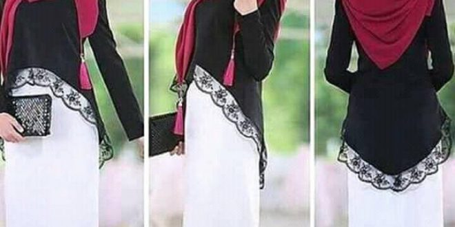 صور صور حجابات , انواع ارتداء الحجاب حسب الوجه