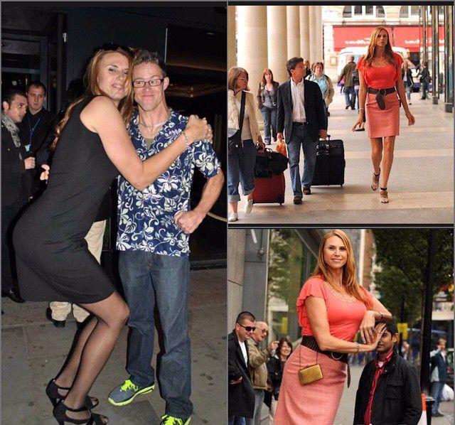 بالصور اطول امراة في العالم , شاهد بالصور اغرب النساء طولا 6548 6