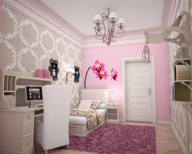بالصور صور غرف بنات , احدث موضه لغرف نوم البنت الرقيقه 6551 9