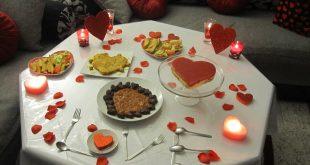صورة افكار لعشاء رومانسي , كيفيه تحضير العشاء الي الحبيب