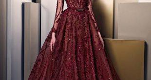 صوره اخر موديلات الفساتين , موضة فساتين تواكب العصر