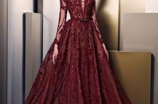 صورة اخر موديلات الفساتين , موضة فساتين تواكب العصر