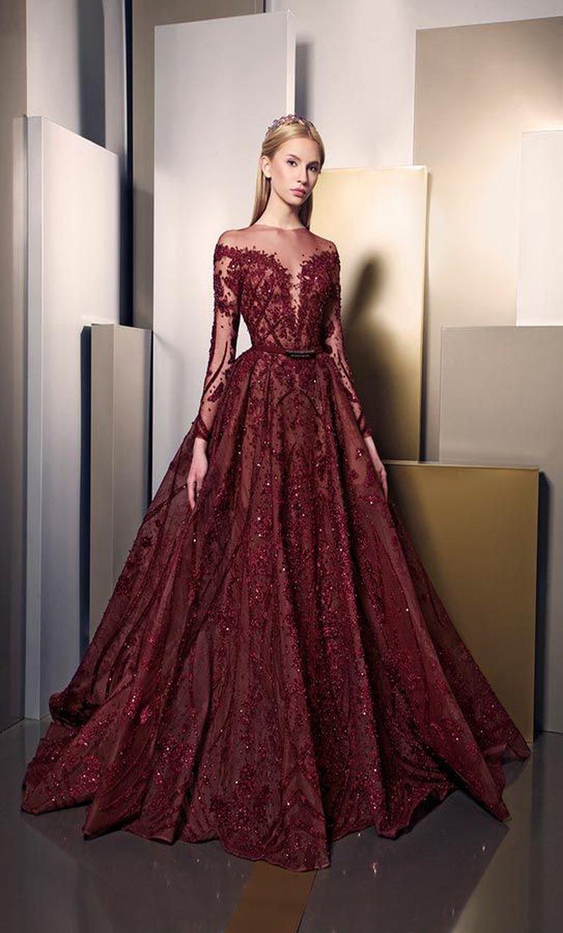 بالصور اخر موديلات الفساتين , موضة فساتين تواكب العصر 6626