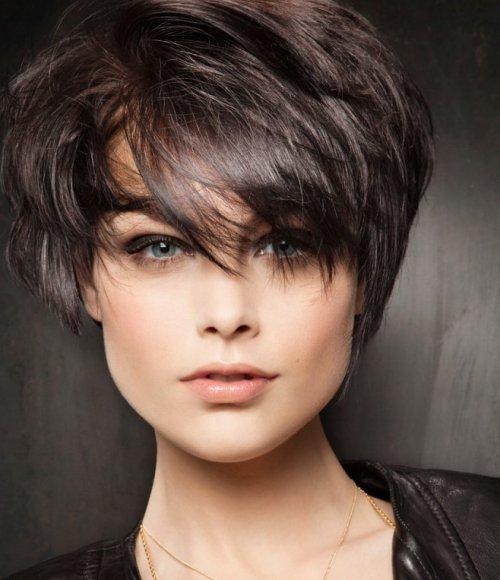بالصور اجمل قصات الشعر القصير , احدث قصات شعر قصير 777 7