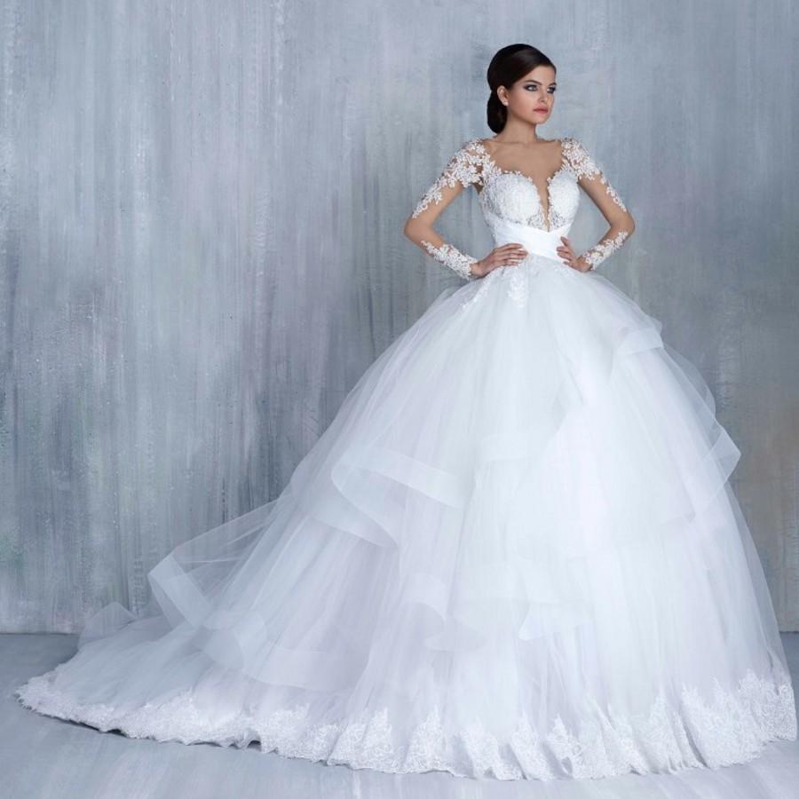 بالصور صور فساتين زفاف , احدث و اجدد فساتين الزفاف 811 10