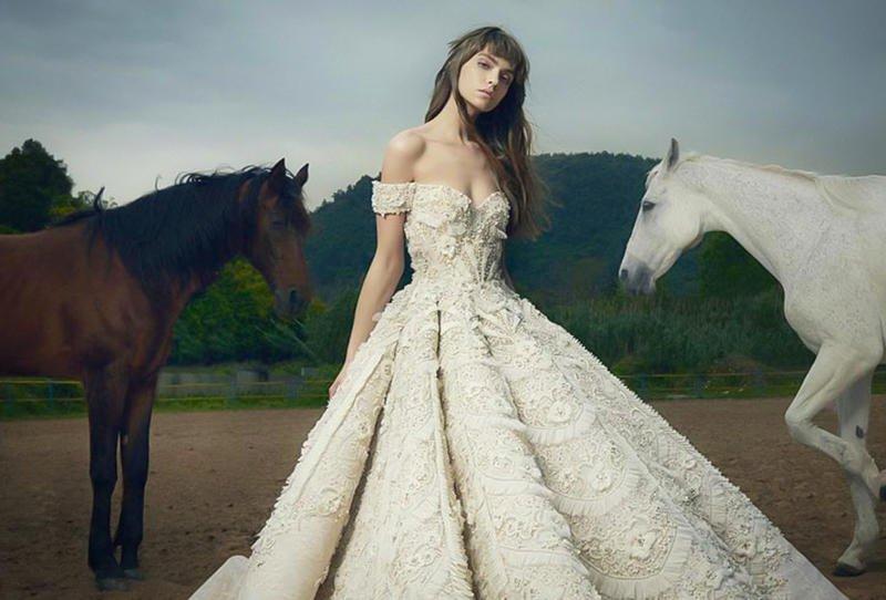 بالصور صور فساتين زفاف , احدث و اجدد فساتين الزفاف 811 4