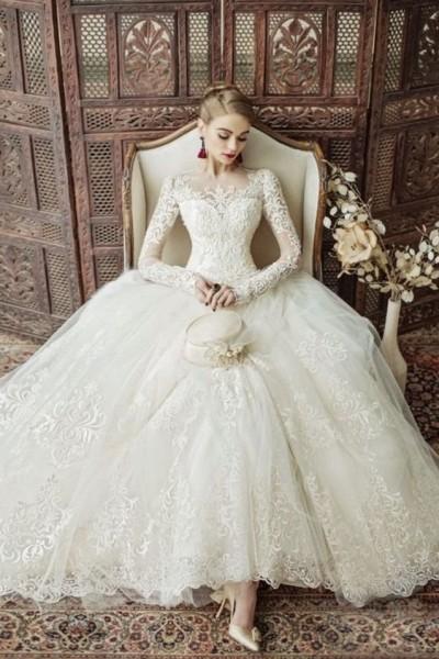 بالصور صور فساتين زفاف , احدث و اجدد فساتين الزفاف 811 6