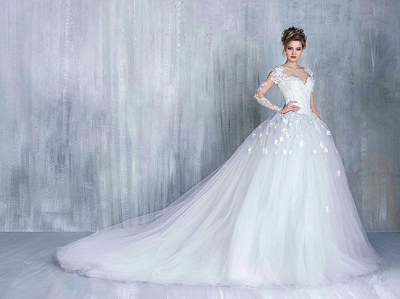 بالصور صور فساتين زفاف , احدث و اجدد فساتين الزفاف 811 9