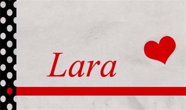صوره معنى اسم لارا , معني اسم لارا و صفات حامله