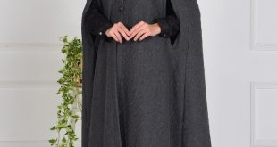 صورة ملابس شتوية للمحجبات تركية , اجمل ملابس المحجبات التركيه الشتويه المتينه