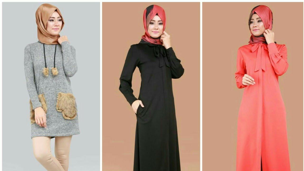 بالصور ملابس شتوية للمحجبات تركية , اجمل ملابس المحجبات التركيه الشتويه المتينه 831 2