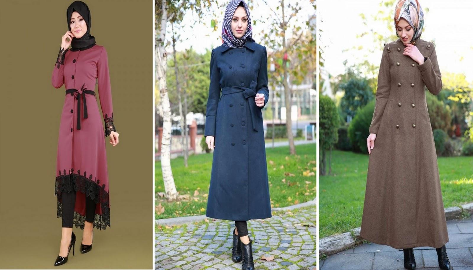 بالصور ملابس شتوية للمحجبات تركية , اجمل ملابس المحجبات التركيه الشتويه المتينه 831 3