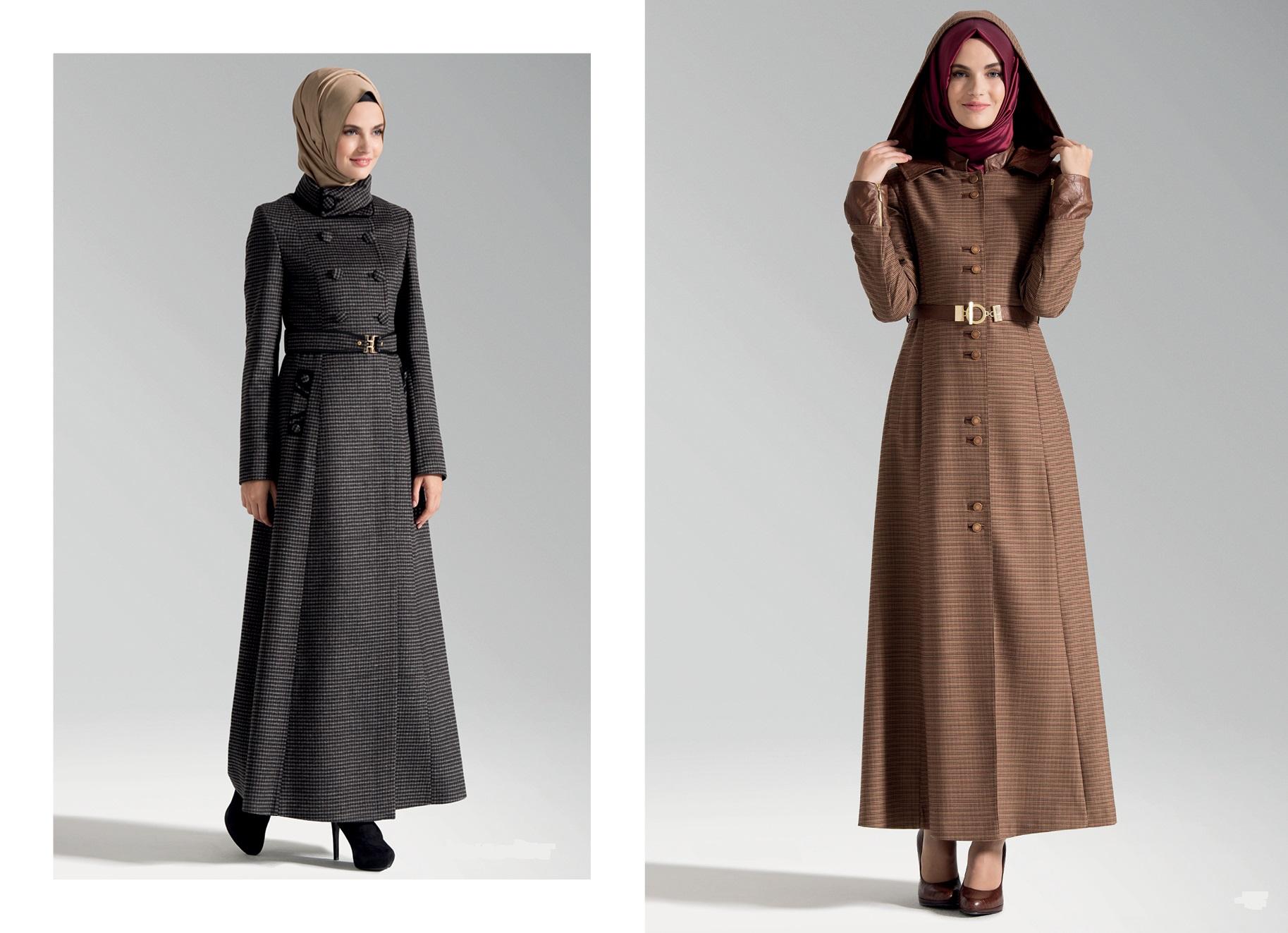 بالصور ملابس شتوية للمحجبات تركية , اجمل ملابس المحجبات التركيه الشتويه المتينه 831 4