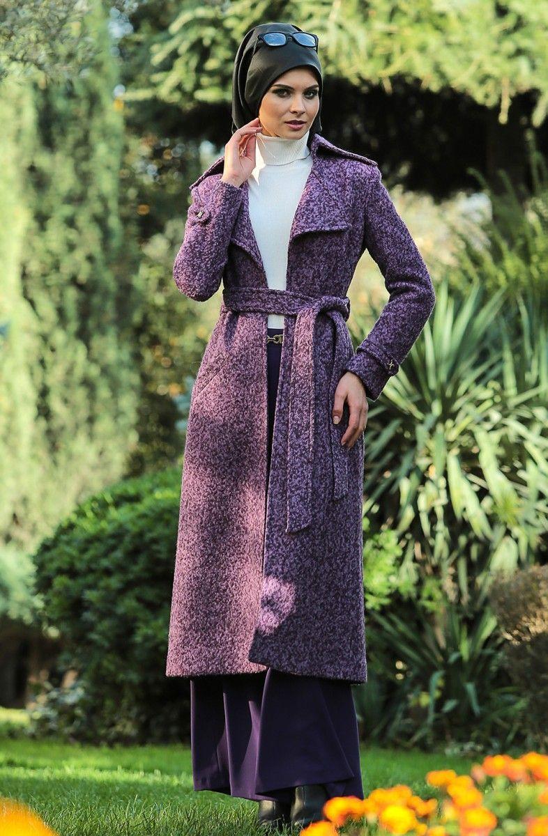 بالصور ملابس شتوية للمحجبات تركية , اجمل ملابس المحجبات التركيه الشتويه المتينه 831 6