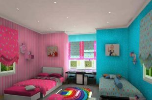 صوره دهانات غرف اطفال , احدث الدهانات لغرفة طفلك