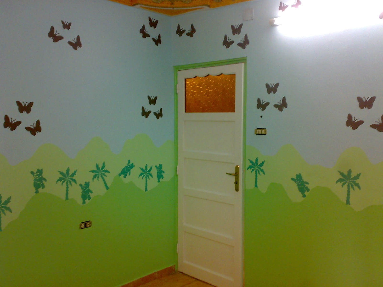 بالصور دهانات غرف اطفال , احدث الدهانات لغرفة طفلك 869 7