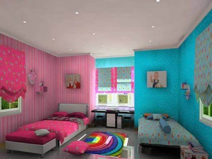 صور دهانات غرف اطفال , احدث الدهانات لغرفة طفلك