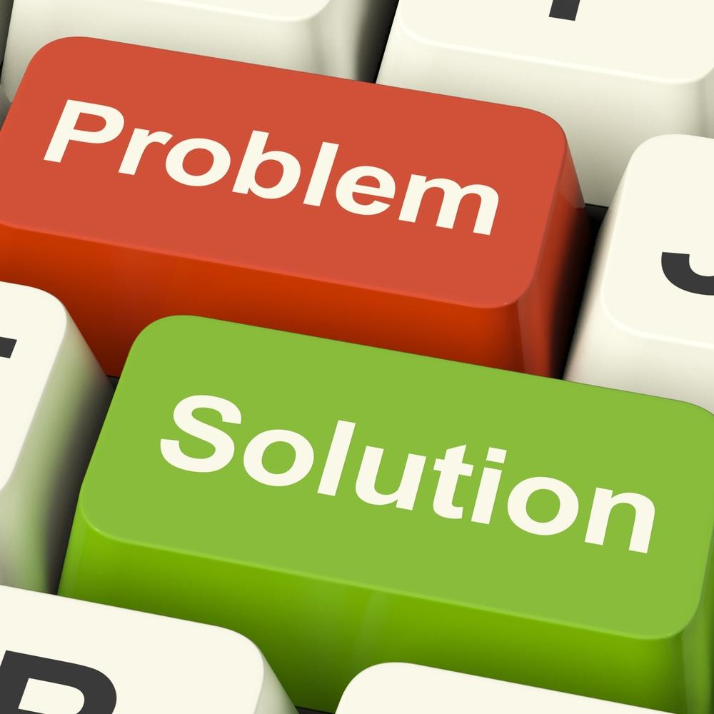 صوره مشاكل وحلول , لكل مشكله دائما حل