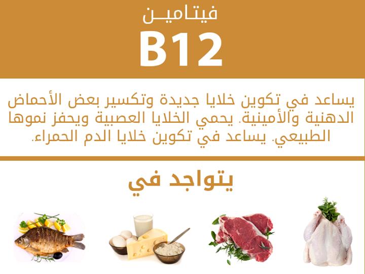 بالصور ما هو فيتامين b12 , تعرف علي فيتامين B12 و اعراض نقصه 926 2