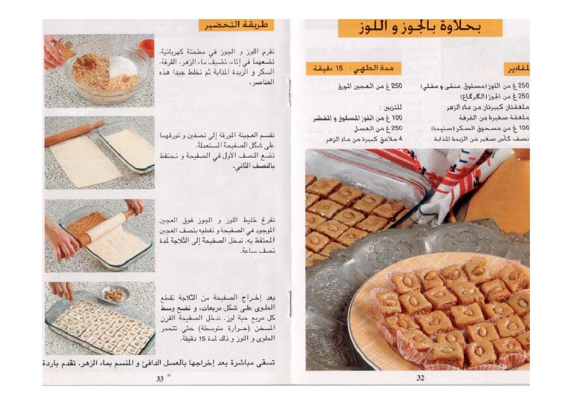 بالصور حلويات الافراح بالصور والطريقة , طريقة تحضير حلويات الافراح بالصور 980 3