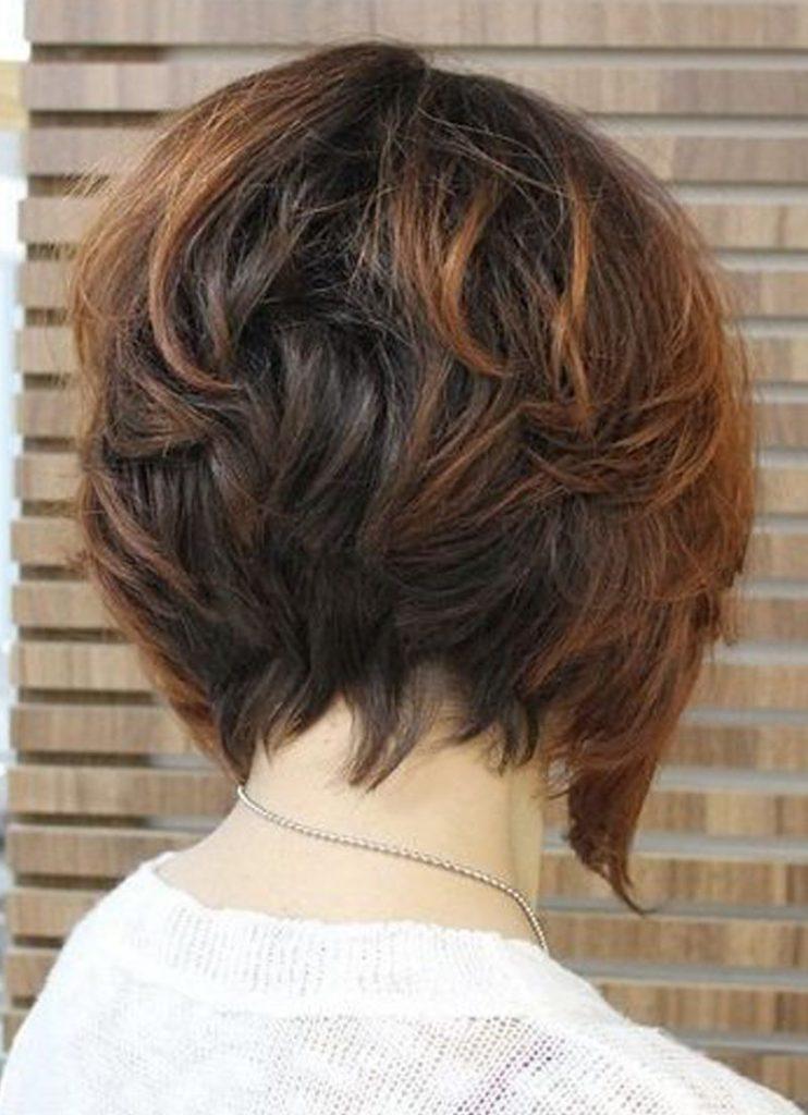 بالصور قصات شعر قصير مدرج , تعرف على احدث قصات الشعر الجديدة 6698 4