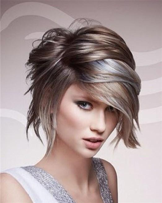 بالصور قصات شعر قصير مدرج , تعرف على احدث قصات الشعر الجديدة 6698 5