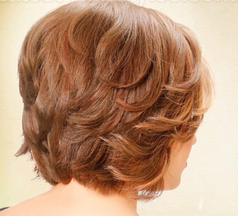 بالصور قصات شعر قصير مدرج , تعرف على احدث قصات الشعر الجديدة 6698 8