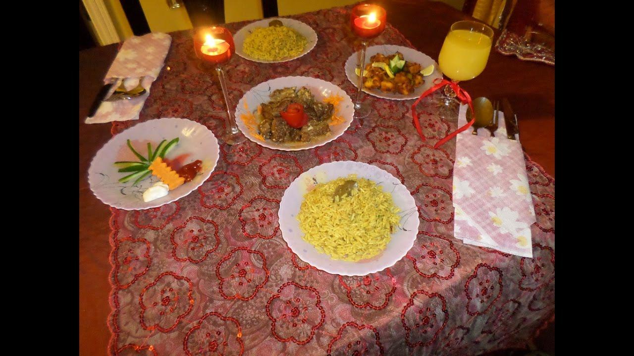 بالصور عشاء رومانسي في البيت , اروع عشاء رومانتيكي بين الزوجين 6711 1