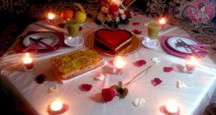 صوره عشاء رومانسي في البيت , اروع عشاء رومانتيكي بين الزوجين