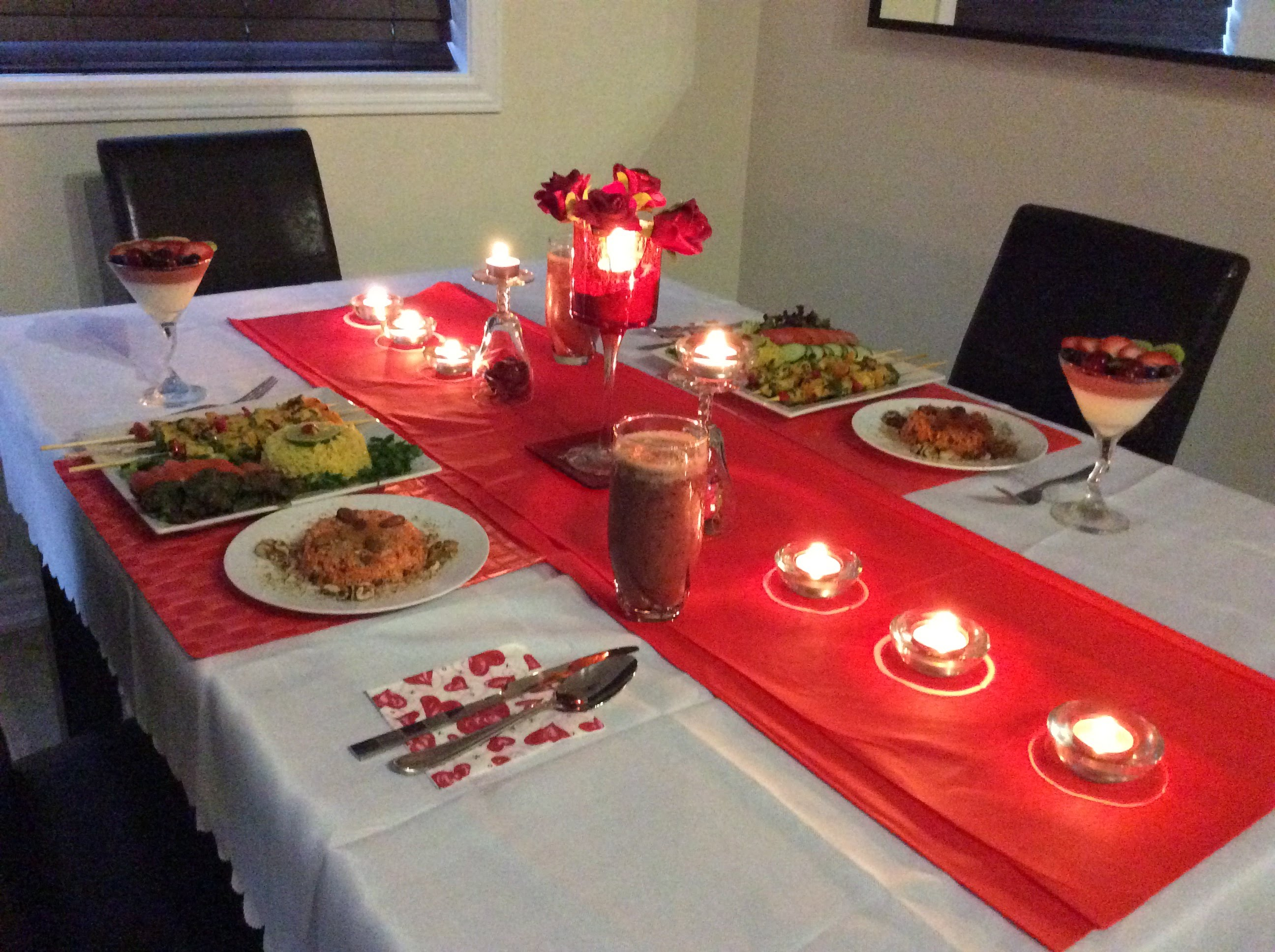 بالصور عشاء رومانسي في البيت , اروع عشاء رومانتيكي بين الزوجين 6711 2