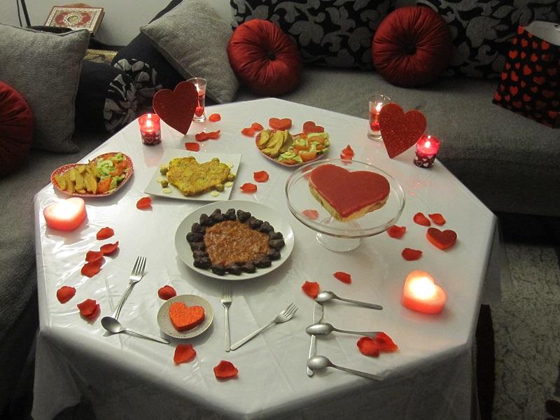بالصور عشاء رومانسي في البيت , اروع عشاء رومانتيكي بين الزوجين 6711 5