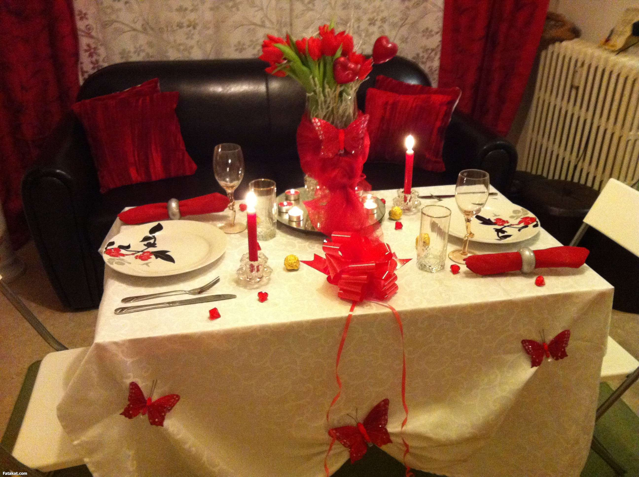بالصور عشاء رومانسي في البيت , اروع عشاء رومانتيكي بين الزوجين 6711 7
