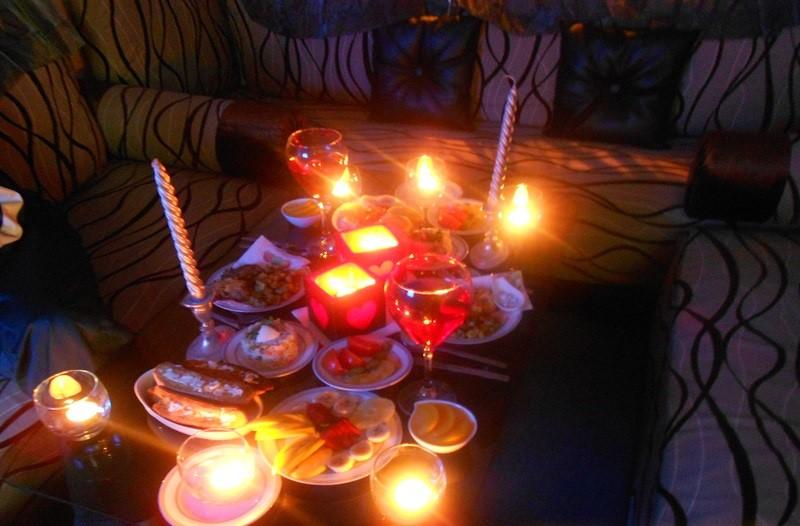 بالصور عشاء رومانسي في البيت , اروع عشاء رومانتيكي بين الزوجين 6711 8