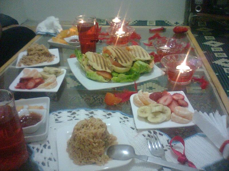 بالصور عشاء رومانسي في البيت , اروع عشاء رومانتيكي بين الزوجين 6711 9
