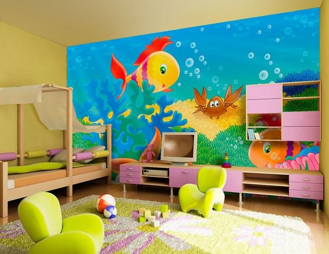 بالصور غرف نوم للاطفال , اطفالى هم قرة عينى 309 4
