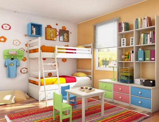 بالصور غرف نوم للاطفال , اطفالى هم قرة عينى 309 6
