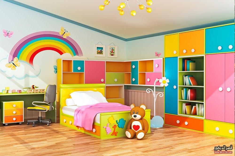 بالصور غرف نوم للاطفال , اطفالى هم قرة عينى 309