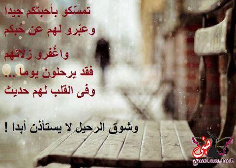 صورة كلام فراق وعتاب , وداعا يا عشق قلبى