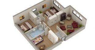 بالصور تصميم شقق صغيرة , اروع التخطيطات لشقة بسيطة 12057 12 310x165