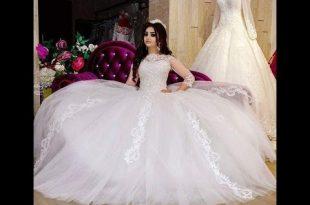 صورة احلى فساتين فرح , اجمد واشيك دريسات زفاف