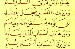 بالصور شعر زهير بن ابي سلمى في الحكمة , قصائد شعرية عن زهير بن ابي سلمي 12128 14 310x205