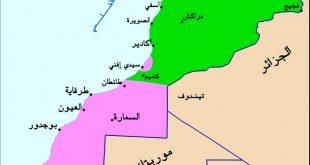 خريطة شمال المغرب , دولة المغرب والخريطة الشمالية