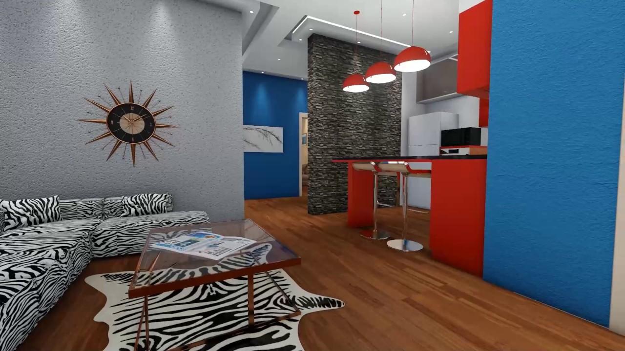 بالصور تصميم شقق صغيرة 100 متر , مخططات لشقة مساحة 100 متر صغيرة 12282 3